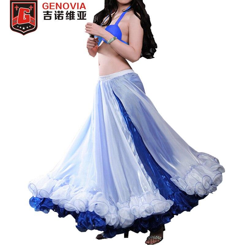 2019 New Arrival Chiffon Women Belly Dance Skirt Professional Belly Dance Skirt