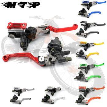 "7/8"" 22mm Off Road Brake Master Cylinder Reservoir Lever for Kawasaki KDX200 KLX 140L KLX450R KMX 125 KX80 KX100 KX250  450F 500"