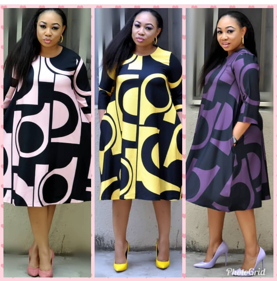 2019 Elegent Sexy Fashion Style African Women Beaty Dress