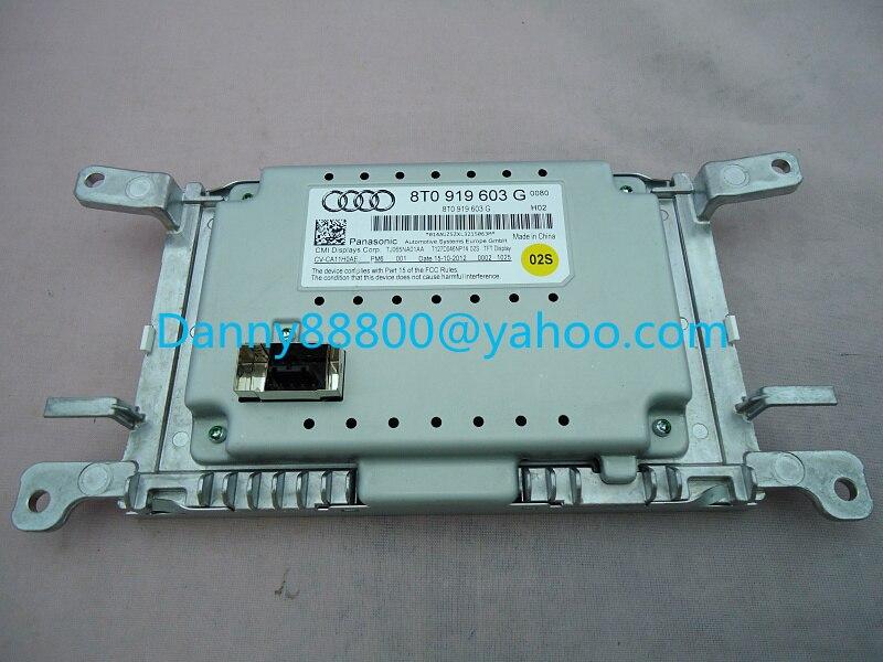 Brand new Matsushita 8T0919603G 8T0 919 603G for Mini AUDIA4L Q5 car LCD screen display