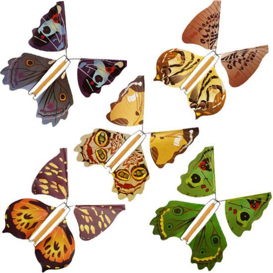 5pcs Metalna kost Magični leptir lebdeći čarobni čarobni trikovi - Klasične igračke