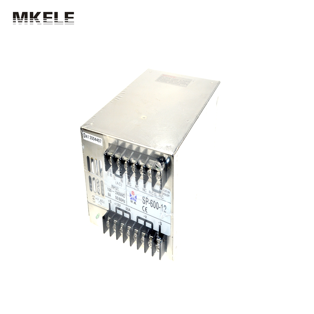 ФОТО SP-600W 48V LED single output switching power supply with PFC function