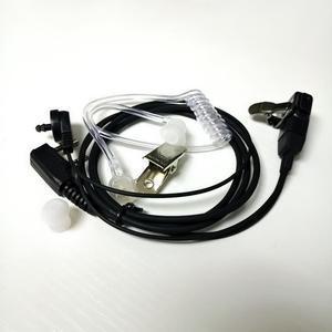 Image 2 - 5 PCS Air Akoestische Buis Headset voor Walkie Talkie Baofeng Radio K Poort Oortelefoon PTT met Microfoon voor UV 5R 888 s Guard Oordopjes