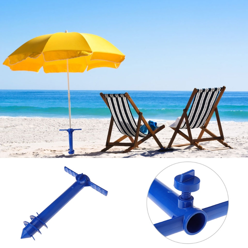 US $7 98 23% OFF Beach Umbrella Anchor Universal Sand Grabber Stand Spike  Holder Travel Accessory-in Flying Discs from Sports & Entertainment on