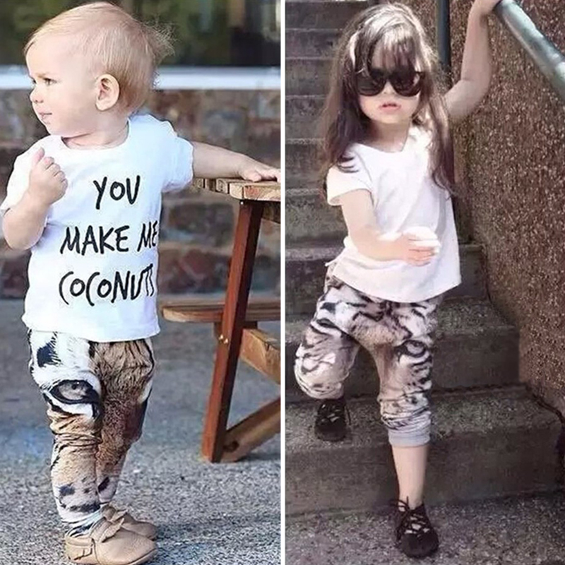 2018 Fashion Toddler Boys Pants Snow Leopard Cotton Kids Girls Boys Harem Pants Children Trousers Spring Autumn Baby Bottoms New