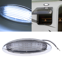 LED RV Dome Ceiling Lights Camper Trailer Marine Boat Interior Lamp , 310LM