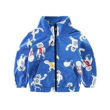 VTOM Baby Children Coats New Spring Autumn Kids Casual Zipper Baseball Jackets Outerwear Clothes For  Boys TT1-2