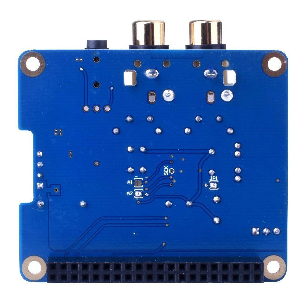 HIFI Digi DAC+ HIFI DAC PCM5122 Sound Card Module I2S Port for Raspberry Pi  3 2 Model B B+ Audio Card Pinboard V2 0 Board