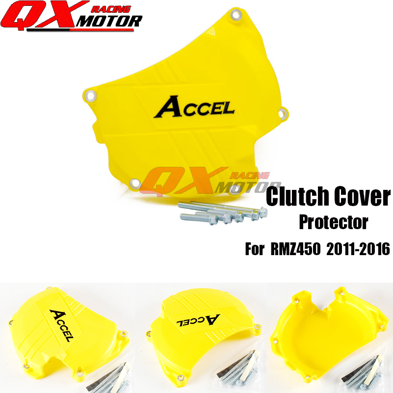 Motorcycle Plastic Clutch Protector Cover Protection Cover For RMZ450 2011 2016 MX Motocross free shipping|cover for|cover protectioncover covers - title=