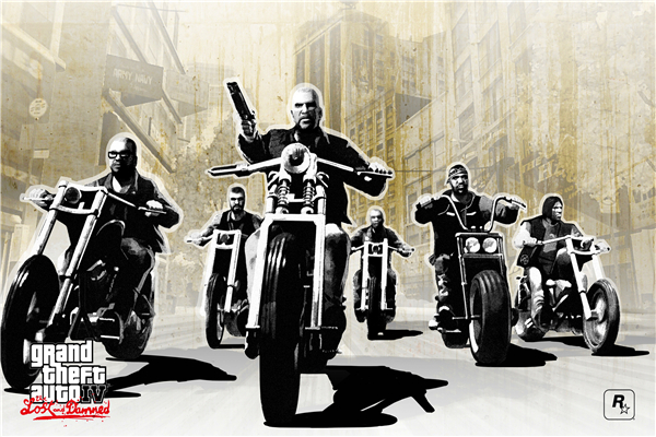 Custom Canvas Painting Grand Theft Auto Poster GTA 4 San Andreas Game Wallpaper Grand Theft Wall Stickers Mural Home Decor #757#