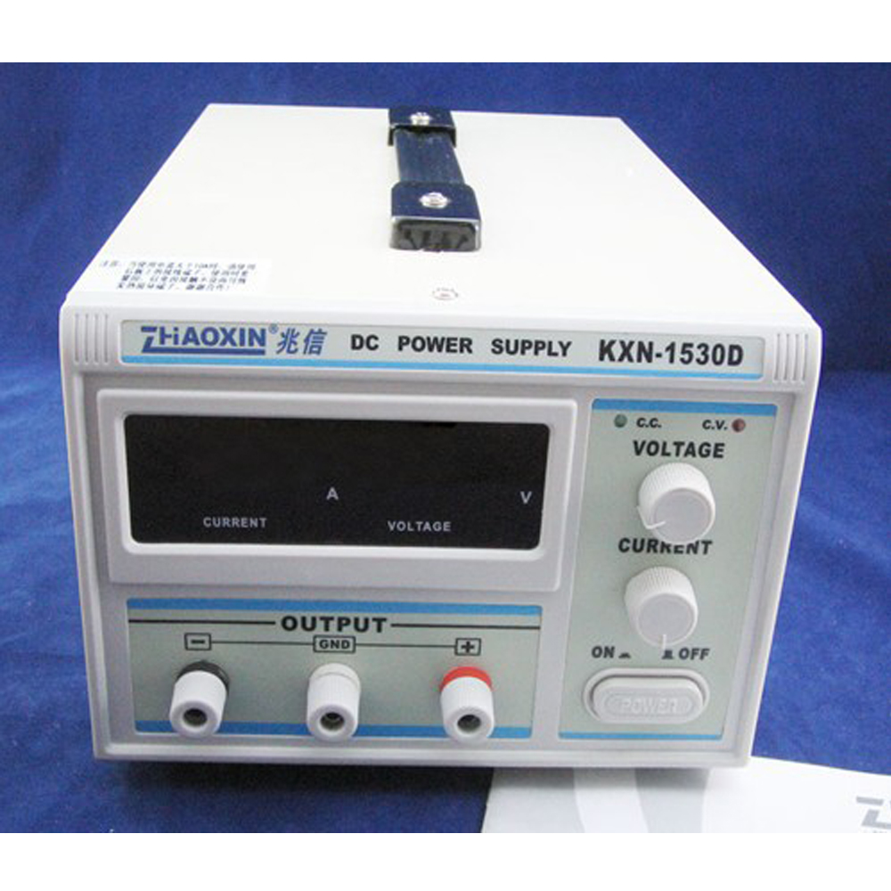 Zhaoxin Kxn 1530d 0 15v 30a Adjustable Dc Power Supply Switching Laboratory Variable Voltage From 0v To 50v And In Regulators Stabilizers Home Improvement On