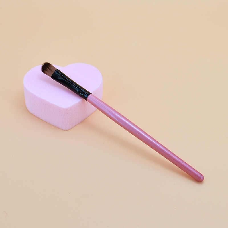 1Pcs Wanita Fashion Hitam Rambut Makeup Brushes Set Bubuk Foundation Eyeshadow Kuas Make Up Kosmetik Rambut Sintetis Yang Lembut PSS