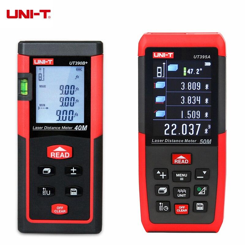 UNI-T UT390B+ UT391+ UT395 UT395B UT395C Portable Laser Rangefinder 40m 50m 60m 70m 100m Laser Distance Meter Range Finder ман 40 390 бу продам