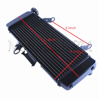 Radiator Cooler For Suzuki SV650 2003 2007 2004 K4 SV 650 2005 2006 Black Aluminum Replacement New