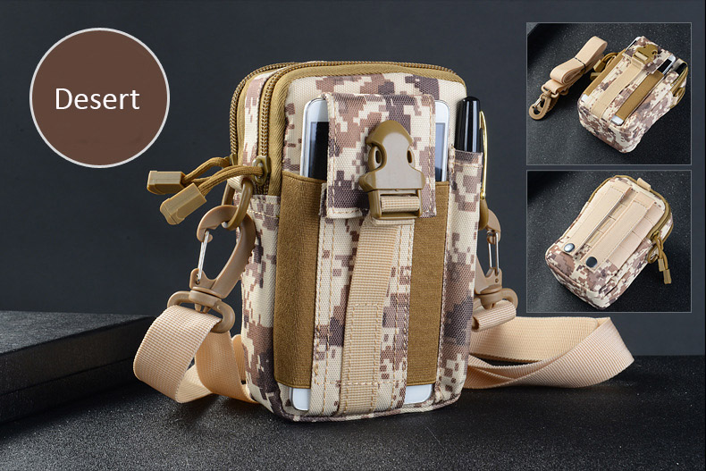 Multifunctional Camping Waist Pack Climbing Emergency Molle Survival Kits Outdoor Tactical Bag Wallet Pouch Outdoor Sport Pack (11)