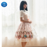 Shirt Lolita Gothic Skirt Loli Lolita Jsk Cosplay Tea Party Princess Sweet Dress Classic Sweet Lolita Dress halloween