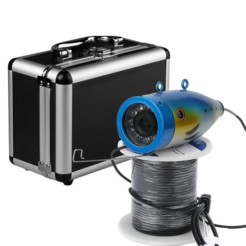 2.4G Wireless Fish Finder Underwater Fishing Camera Video Free Soft APP 50M Underwater Breeding Monitoring For Fish Searching 2 4g wireless fish finder underwater fishing camera video free soft app 50m underwater breeding monitoring for fish searching