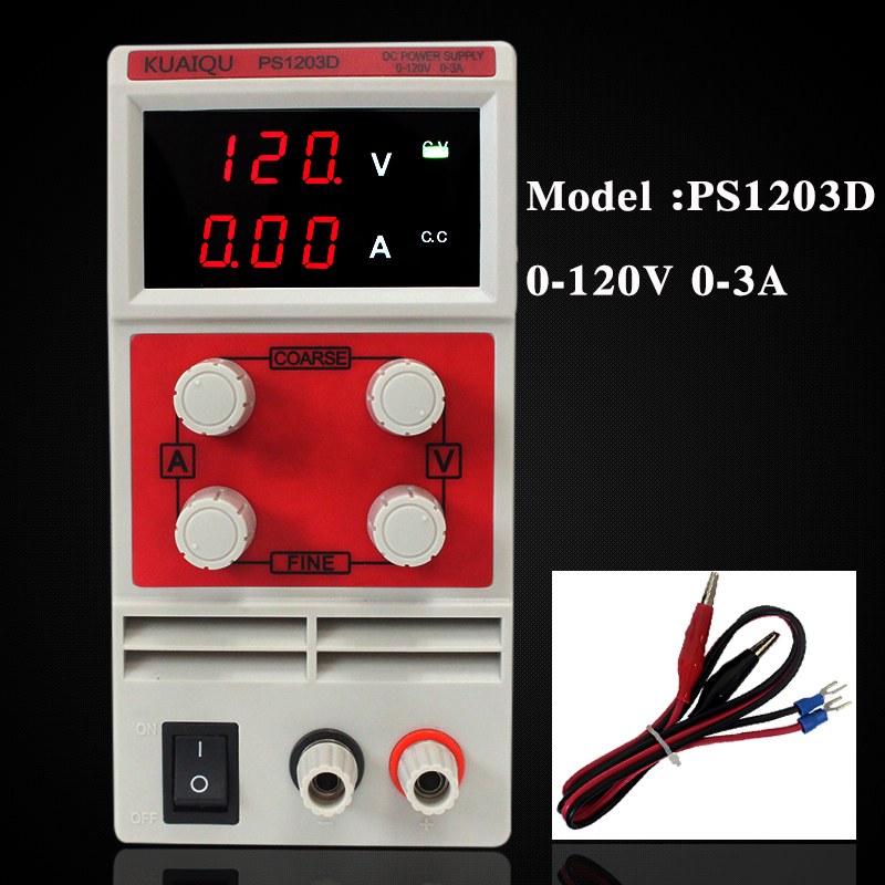 0.1V0.01A 120V 3A Rework Station Mini professional Switching Regulated Adjustable DC Power Supply SMPS Single Channel 50/60Hz 0.1V0.01A 120V 3A Rework Station Mini professional Switching Regulated Adjustable DC Power Supply SMPS Single Channel 50/60Hz