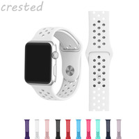 Fasion Sport Band Strap For Apple Watch Band 42mm 38 Sports Buckle Bracelet Series 12 Wrist