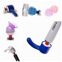 6 Models Accessories Head Cap of Massager Vibrator Attachment