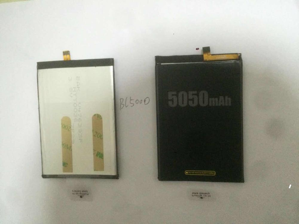 DOOGEE BL5000 Battery 5050mAh 100% Original New Replacement accessory accumulators For DOOGEE BL5000 Smart Phone