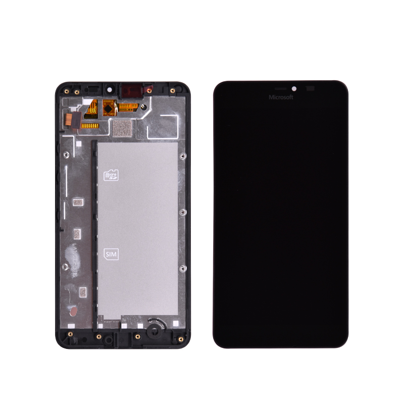 2019 Fashion Original For Microsoft Nokia Lumia 640xl 640 Xl Lcd Display With Touch Screen Digitizer Assembly With Frame Free Shipping Volume Large
