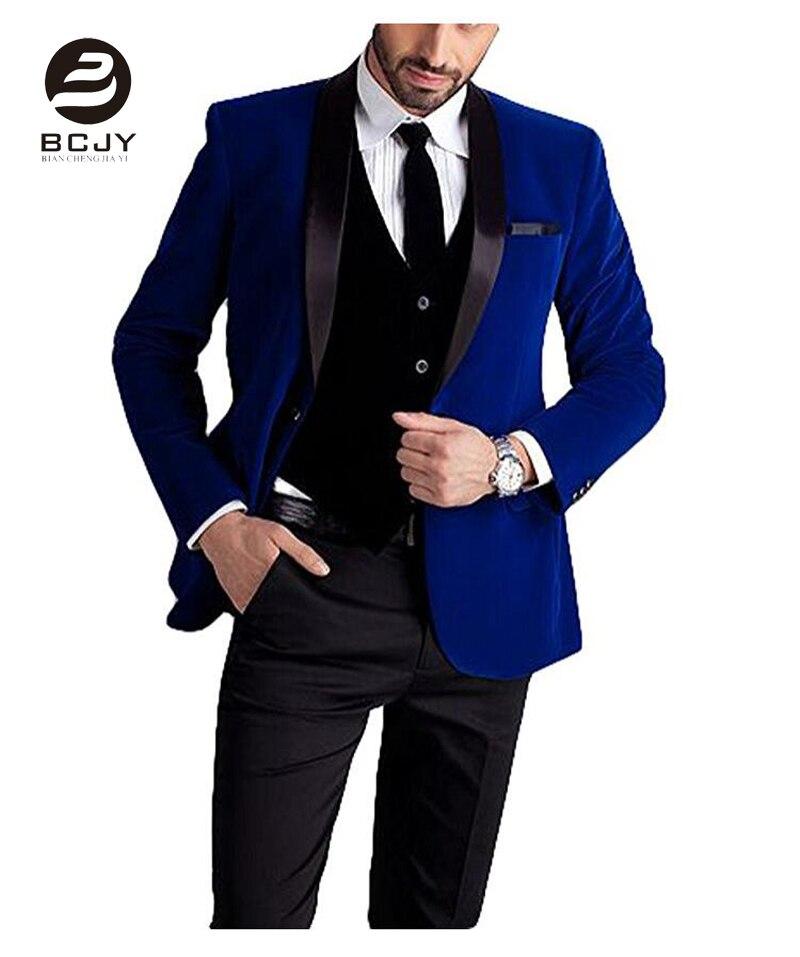 Kuum müük unikaalne nupp peigmehe tuxedos 3 tükki groomsmen - Meeste riided - Foto 5