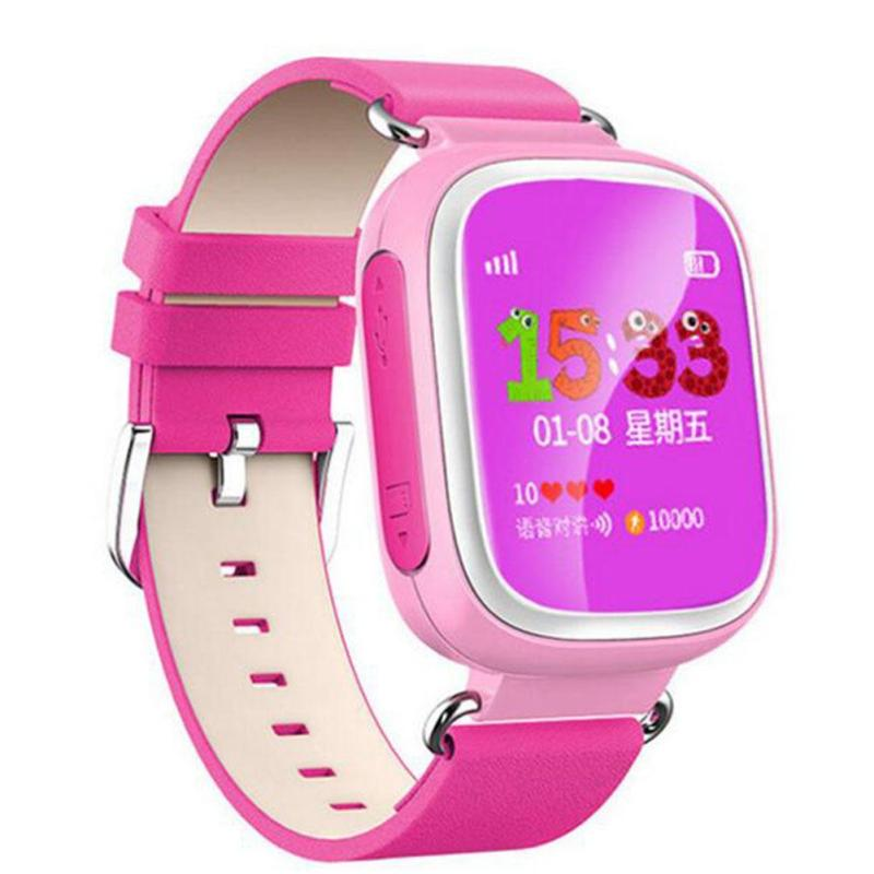 GPS Smart Watch Baby Watch Phone SOS Call Location DeviceTracker For Kid Anti Lost Monitor Sport