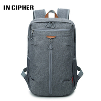In Cipher Fashion Men Travel Backpacks Waterproof Large Backpack Teenagers School Bag Multifunction Anti Theft