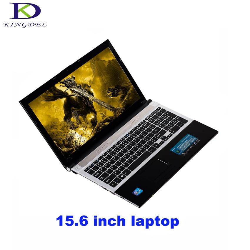 Kingdel 15.6 Inch Core I7 laptop Computer 8GB RAM 64GB SSD&500GB HDD Camera WIFI Windows 8 Game Notebook PC 1920*1080 HD Screen crazyfire 14 inch laptop computer notebook with intel celeron j1900 quad core 8gb ram