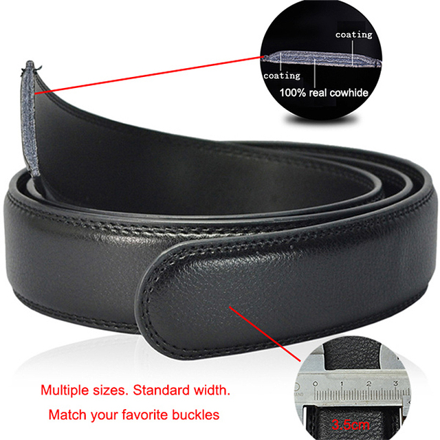 [LFMB]Famous Brand Belt Men Top Quality Genuine Luxury Leather Belts for Men,Strap Male Metal Automatic Buckle 6
