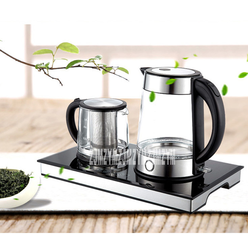 220V 1800W glass electric kettle ts-8121x electric tea set set insulation kettle automatic power off