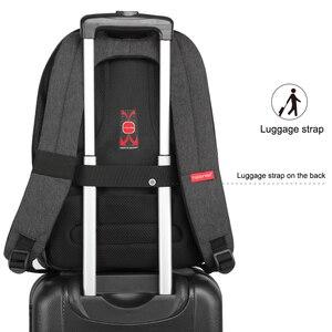 Image 4 - Tigernu moda sırt çantası Anti hırsızlık erkekler sırt çantası iş dizüstü sırt çantası kadın 14 17 inç sırt çantası seyahat Mochila Feminina