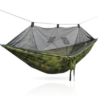 Telas anti-mosquito moustiquaire camping parachute nylon tecido viagem camping Hammock