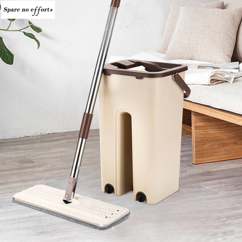 Spin Mop Flat Squeeze Mop Clean Mop Windows Wooden Floor ...