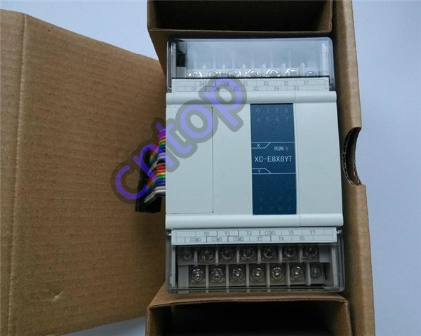 XC-E8X8YT XINJE XC Series PLC Digital I/O Module DI 8 DO 8 Transistor new in box xc e4ad2da xc series plc i o expansion analog module xc e4ad2da 4 channel 14 bits analog input