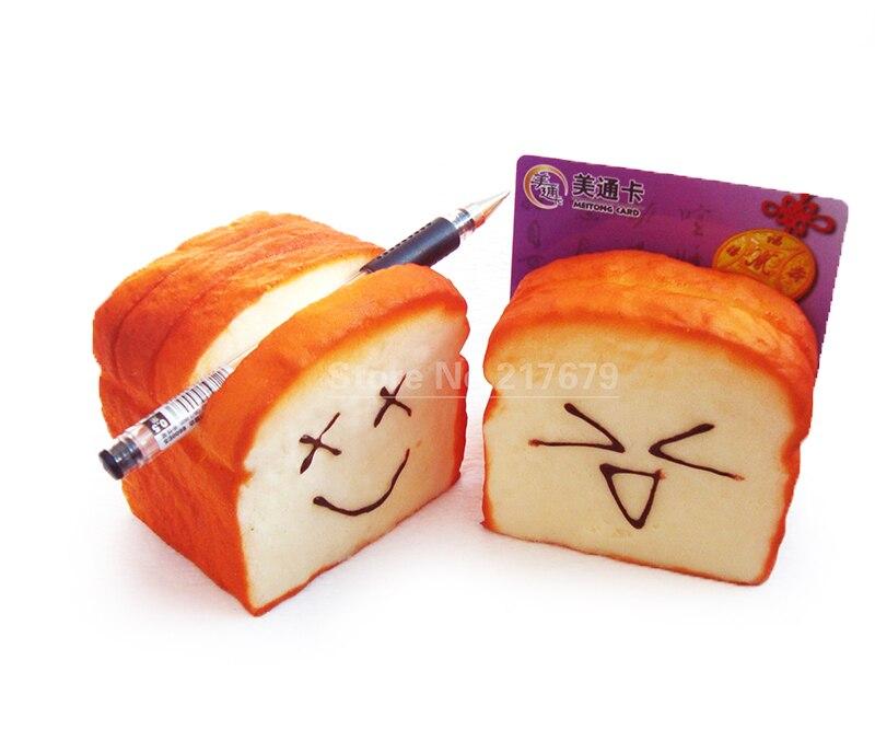 (25PCS) Kawaii squishy Roti Toast squishy κάτοχος τηλεφώνου / κάτοχος καρτών / κάτοχος στυλό ελεύθερη ναυτιλία τιμή χονδρικής