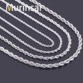Aço inoxidável 316L de aço inoxidável colar de cadeia para homens e mulheres de jóias por atacado