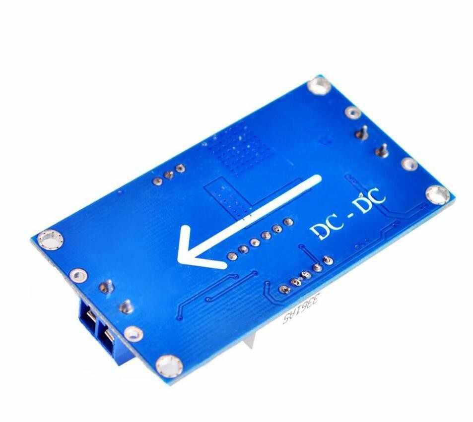TENSTAR ROBOT LM2596 BUCK 3A DC-DC Module d'alimentation abaisseur réglable en tension + voltmètre bleu LED