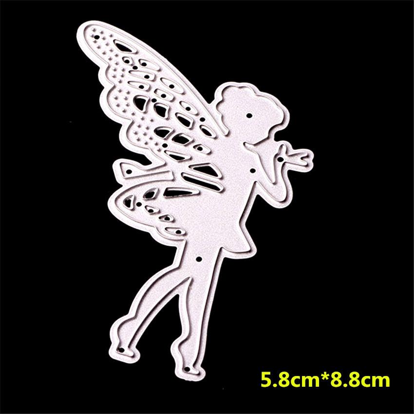 Butterfly Fairy Metal Cutting Dies Stencil DIY Scrapbooking Card Embossing Craft