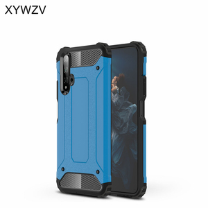 Image 3 - For Huawei Honor 20 Case Shockproof Soft Silicone Armor Rubber Hard PC Phone Case For Huawei Honor 20 Back Cover For Honor 20
