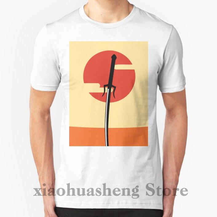 100% Cotone O-neck Men T Shirt Personalizzate T-shirt Stampata Samurai Champloo Minimo Delle Donne Tshirt Originale Al 100%