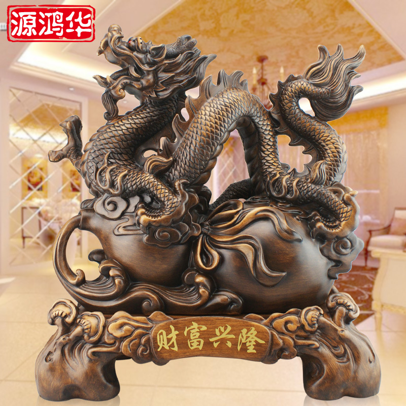 2016 Time Limited Home Decoration Accessories The Dragon Wealth Of High Grade Resin Crafts
