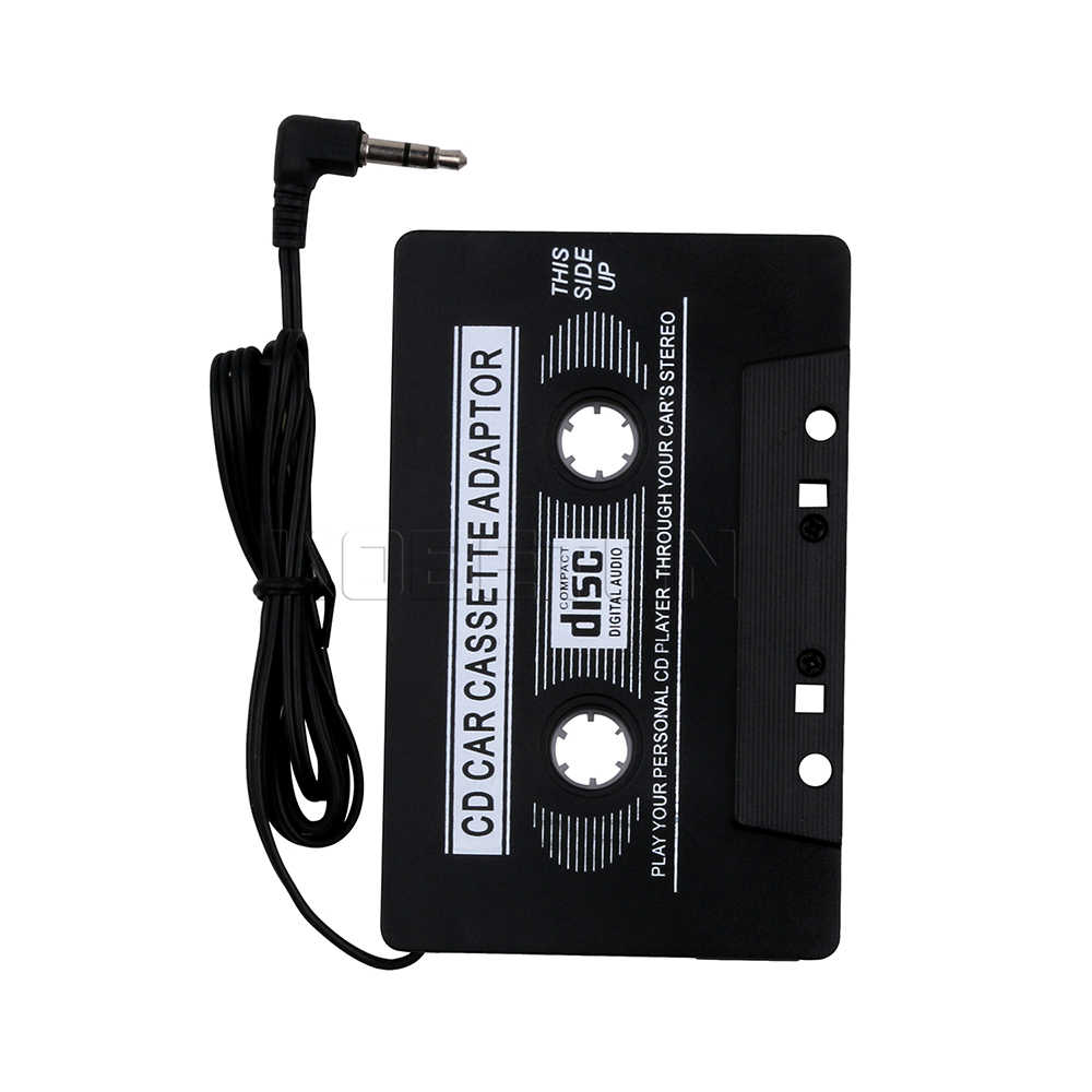 Kebidumei Auto Cassette Stereo Adapter Tape Converter Voor iPod Voor iPhone MP3/4 AUX Kabel CD Speler 3.5mm Jack Plug