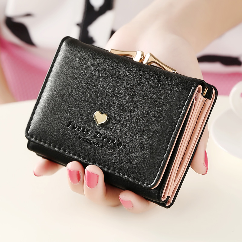 New Arrival Small Women Wallet Short Female Purse Brand Coin Wallet