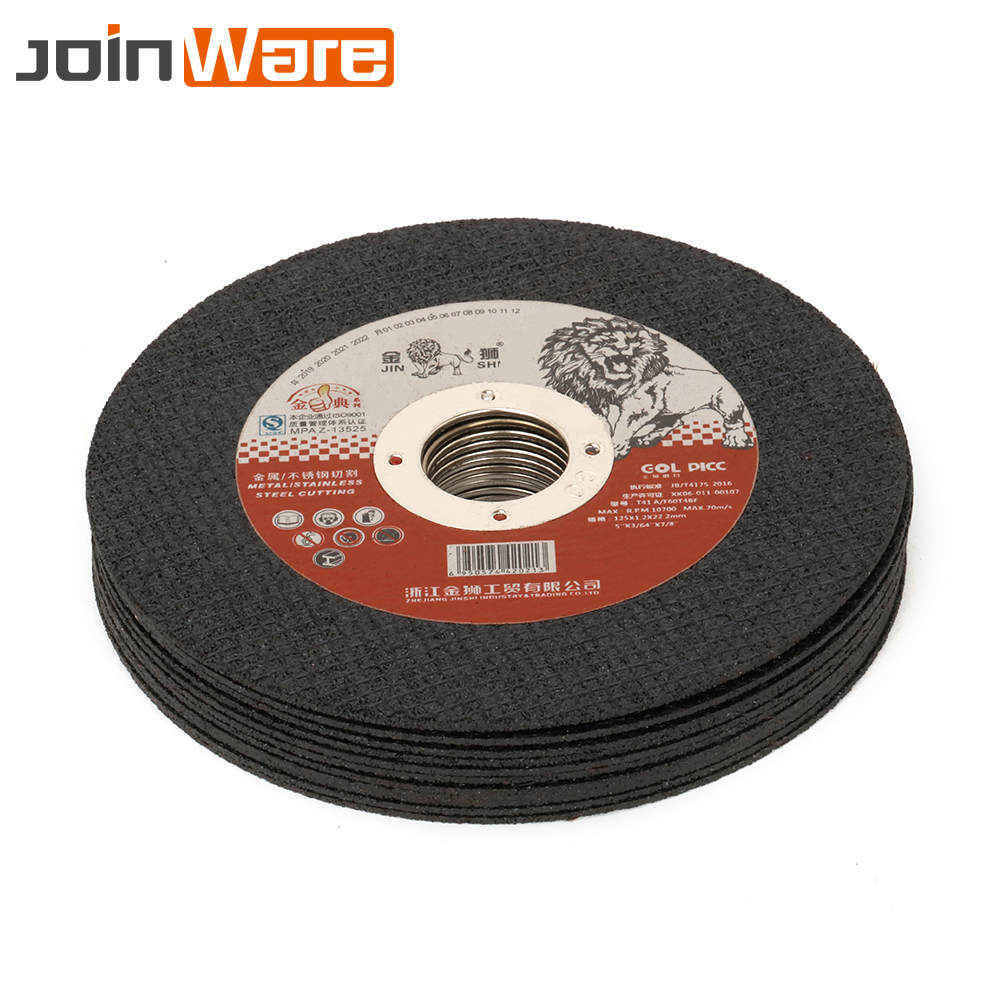Metal Cutting Discs 125mm Cut Off Wheels Flap Sanding Grinding Discs Angle Grinder Wheel 5inch 5/15/25Pcs