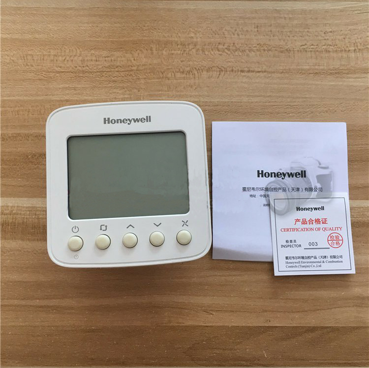 Generous Honeywell Type Lcd Thermostat Tf228wn Central Air Conditioning Panel Fan Coil Controller Switch