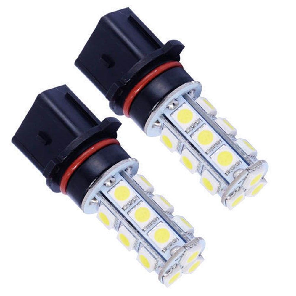 P13W 18 SMD 5050 DRL Противотуманные фары светодиодный автомобиль лампа автоматический светильник источник головка лампы авто светодиодный лампы ...
