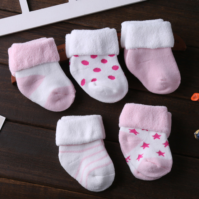 Kids' Cute Soft Cotton Socks