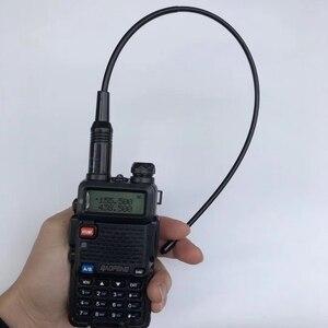 Image 3 - 10 sztuk dwuzakresowy NA771 handheld dwukierunkowa antena radiowa 145/435M RH771 pomarańczowy kolor elastyczne guma antena
